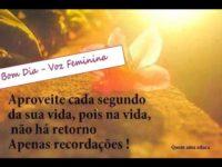 Clube Das Mensagens Bom Dia Voz Feminina