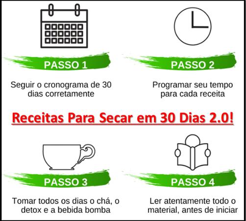 baixar receitas para secar em 30 dias pdf